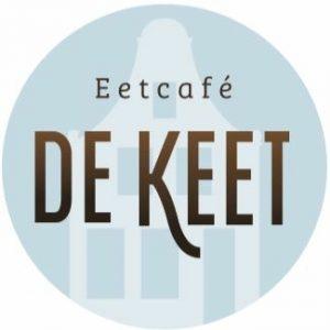 Mooi kado van eetcafe de Keet