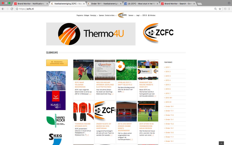 En we zijn live: een nieuwe website voor Zet!
