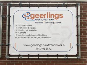 Nog een nieuwe sponsor: Geerlings Elektrotechniek