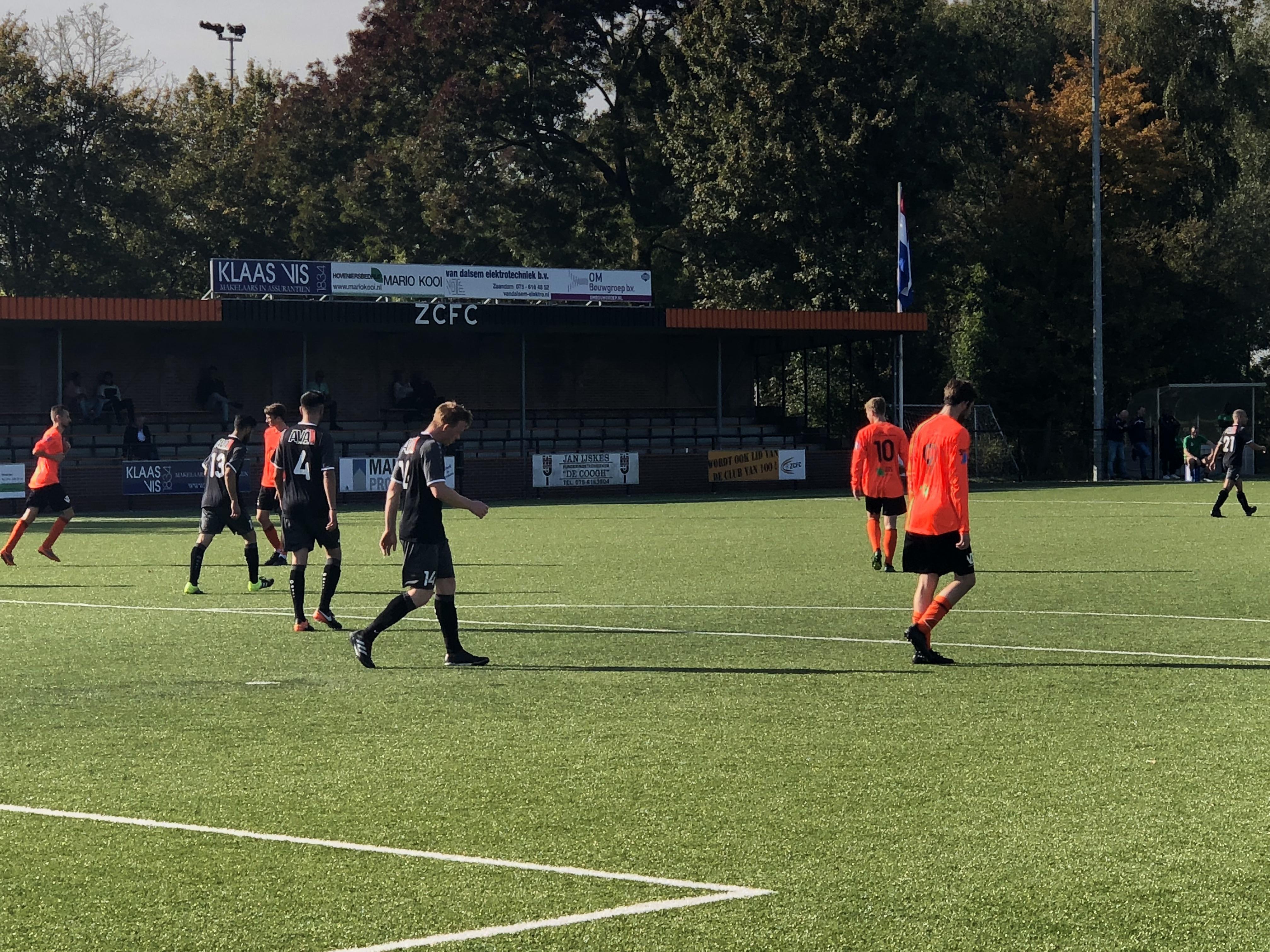 ZCFC geeft 4-0 voorsprong uit handen (4-4)