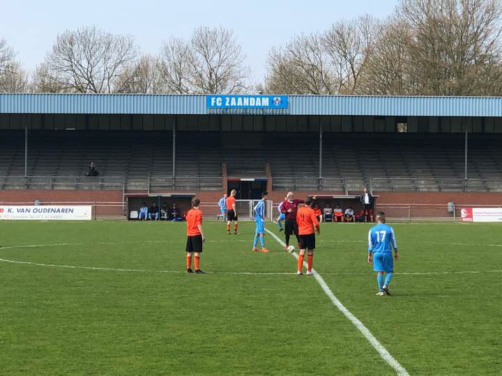 Videoverslag FC Zaandam 3 – ZCFC 2 (1-1)