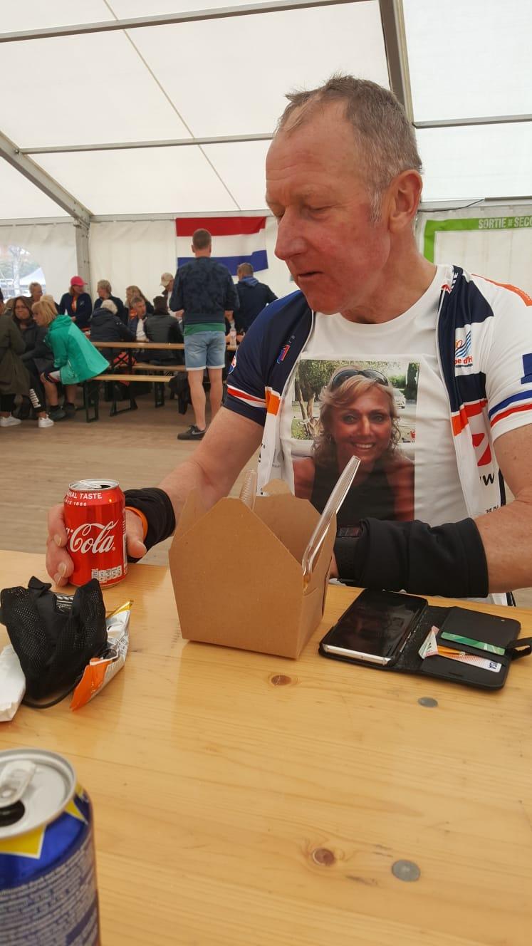 Alpe d'Huez beklommen door Lex Segveld