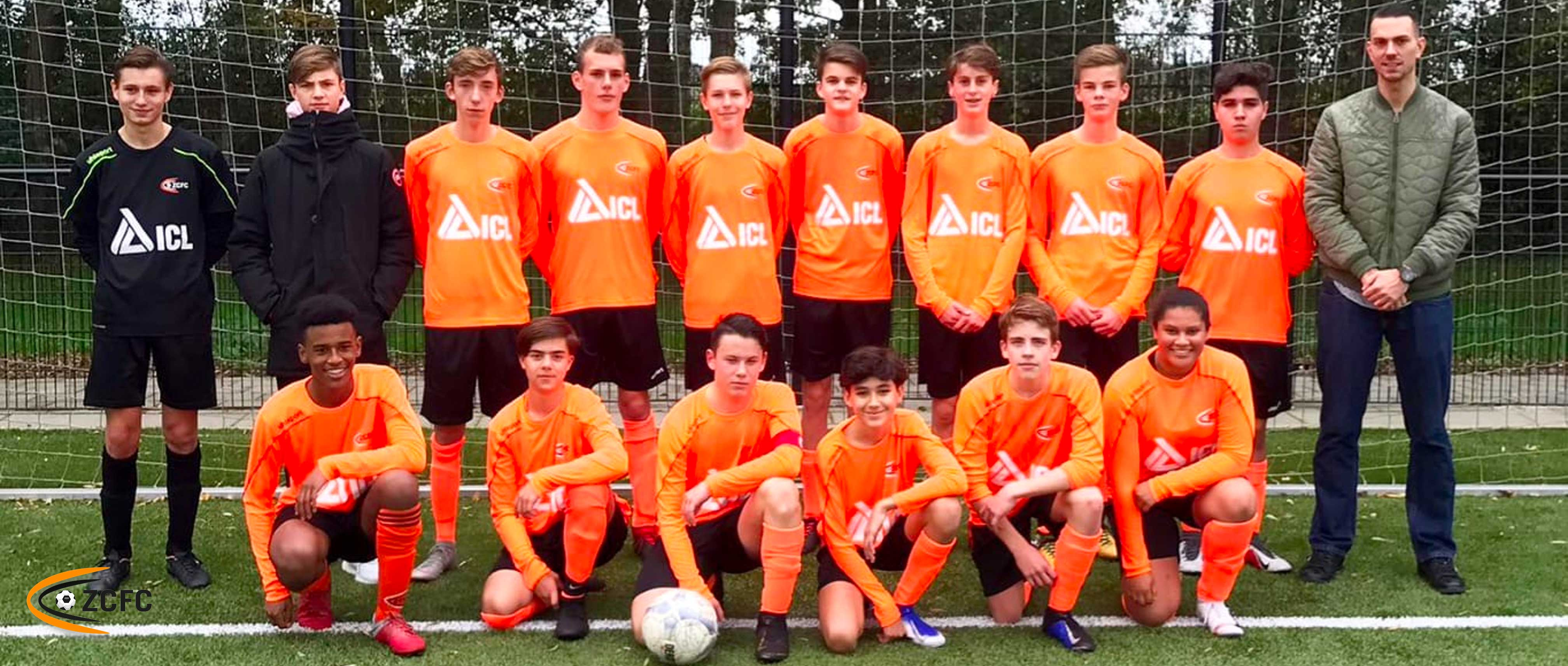 Aanleveren team foto