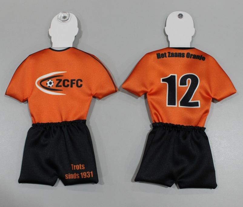 Krijg een gratis ZCFC mini tenue bij deelname aan de ZCFC CL poule