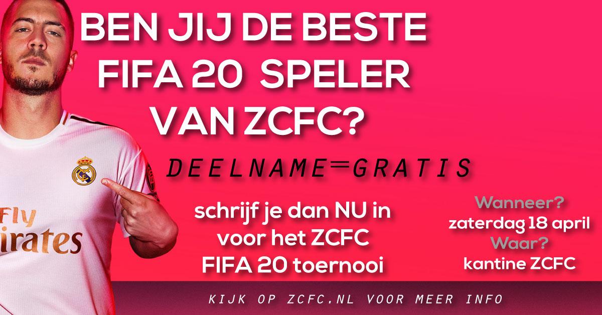 Ben jij de beste FIFA 20 speler van ZCFC