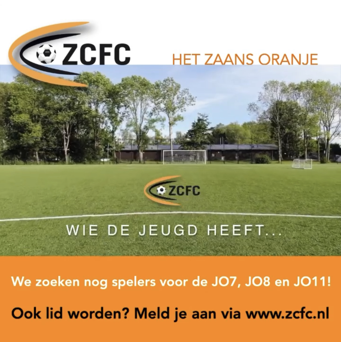 Nieuwe wervingscampagne Zaans Oranje